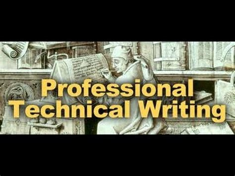 Technical report writing for architects